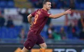Calcio: dzeko totti roma calcio salah