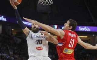 Basket: eurobasket  italia  europei  serbia