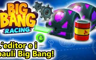 Mobile games: big bang racing  android  corse  online