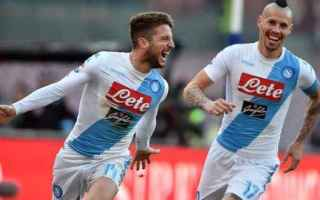 Europa League: napoli  hamsik