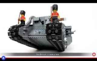 Video divertenti: lego  carri armati  storia  divertente