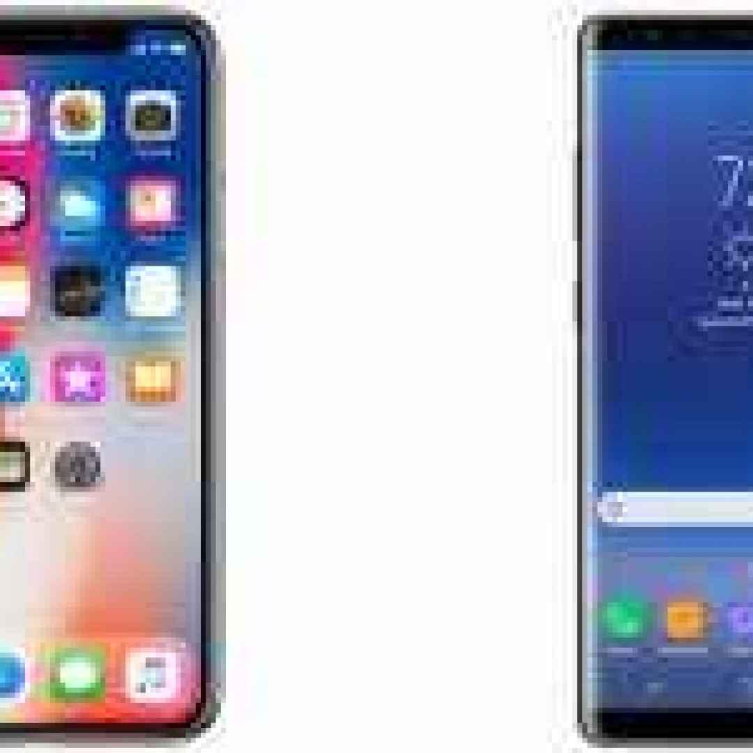 iphone x samsung galaxy note 8 apple
