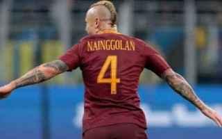 Calcio: roma  di francesco  nainggolan  serie a