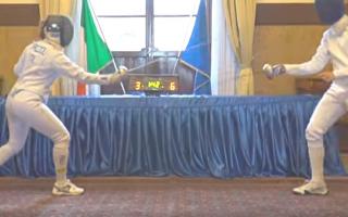 scherma  fencing  forlì