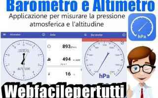App: barometro altimetro app