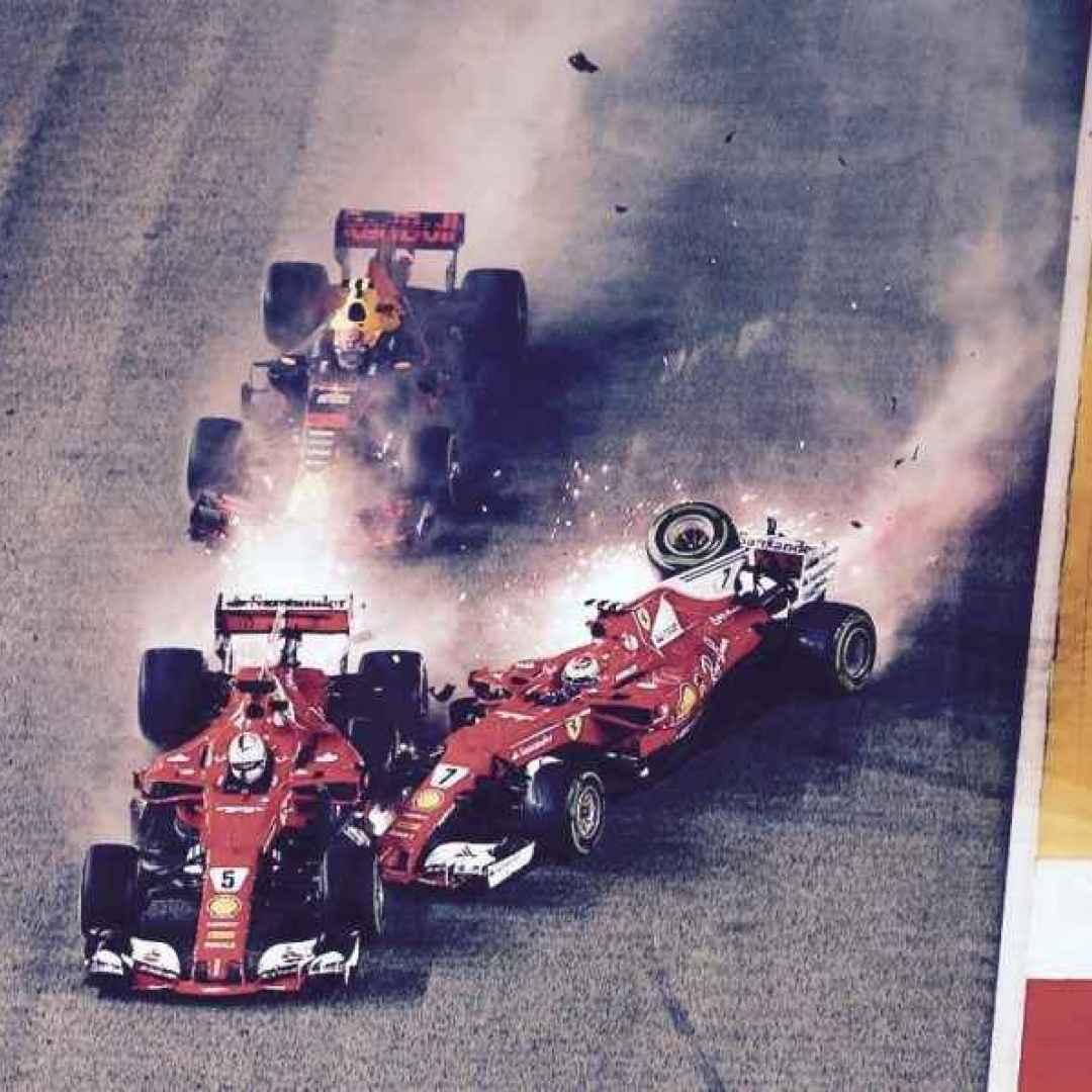 Formula 1 - A Singapore è disfatta Ferrari nell