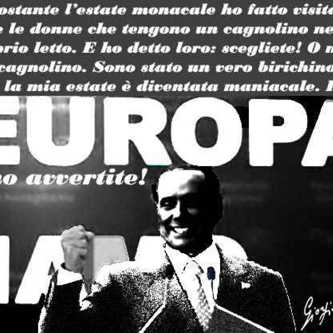 Eccezionale Berlusconi che ancora alla sua età...
