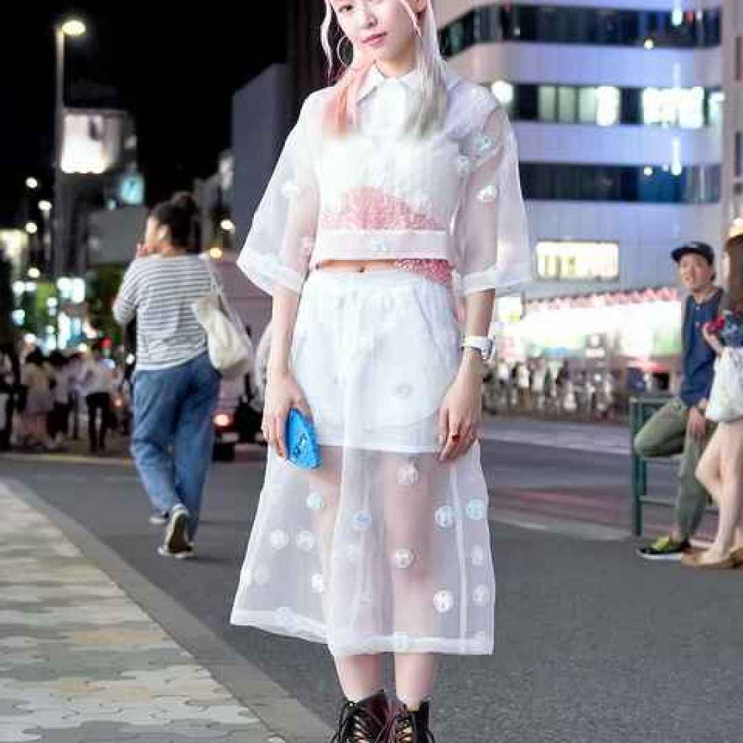 Tokyo street style, nuone tecnologie all