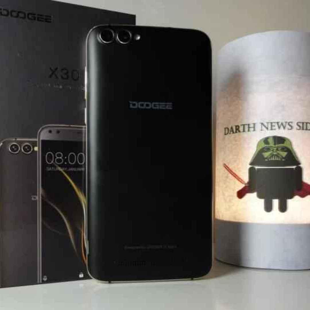 Recensione Doogee X30: lo smartphone con 4 fotocamere