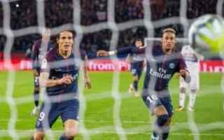 Calcio: neymar  cavani  calcio  twitter  psg