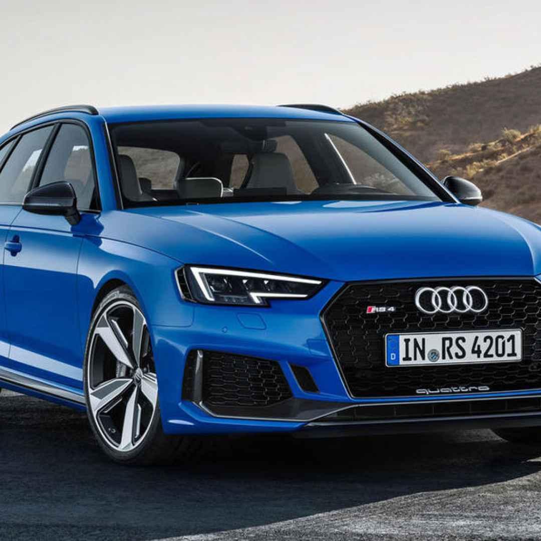 Audi RS4 Avant, la station wagon teutonica è più tedesca