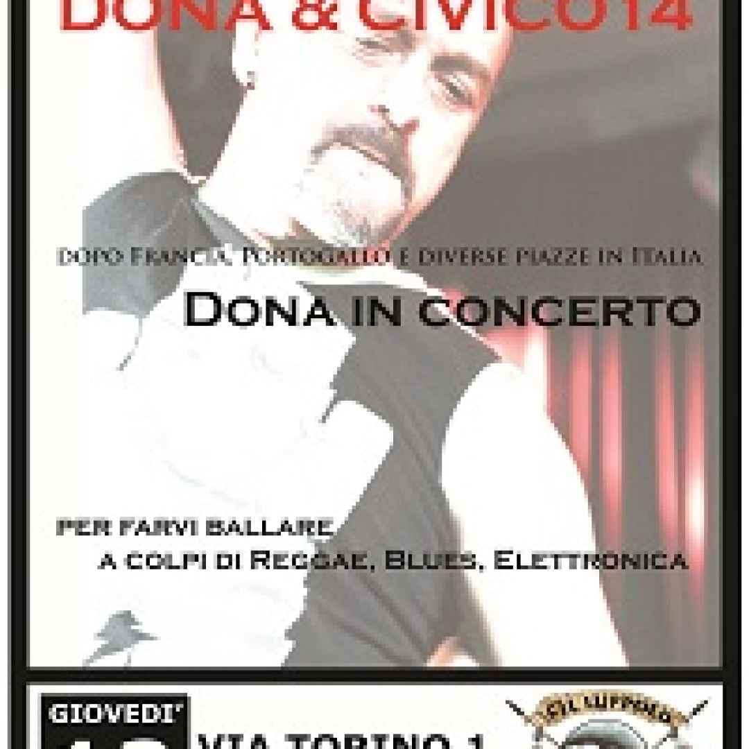 Donatello Ciullo, in arte Dona chiude la sua stagione di concerti a Roletto(To)