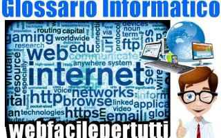 Internet: significato ipv6 glossario informatico