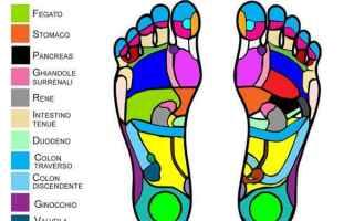 riflessologia del piede  massaggio piede
