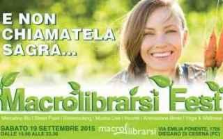 Bologna: eventi romagna  macrolibrarsi fest