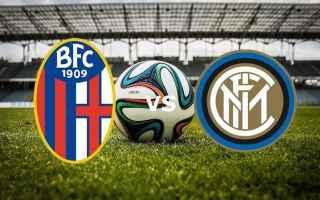 Serie A: calcio  bologna  inter  formazione