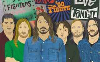 rock  foo fighters  concrete and gold