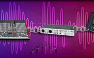 Audio: catena del suono  segnale audio  mixer