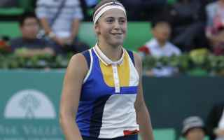 Tennis: tennis grand slam ostapenko seoul
