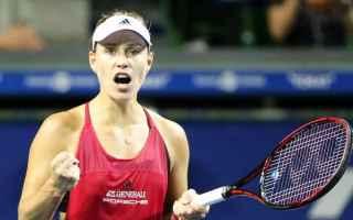Tennis: tennis grand slam kerber tokyo