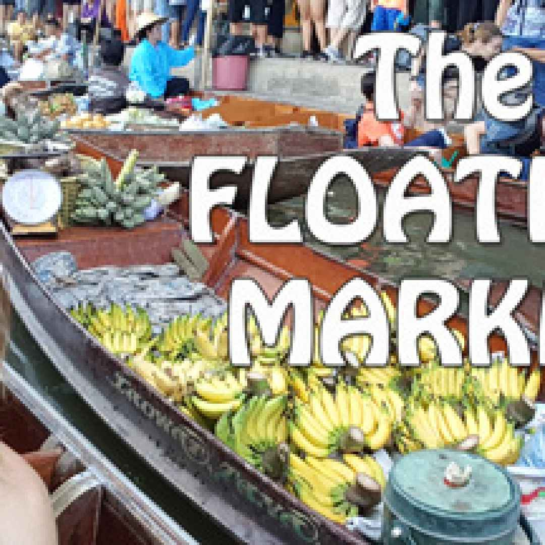 viaggi  thailandia  floating market