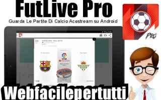 File Sharing: futlive pro  app  calcio  gratis