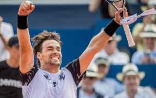 Tennis: tennis grand slam fognini sanpietroburgo