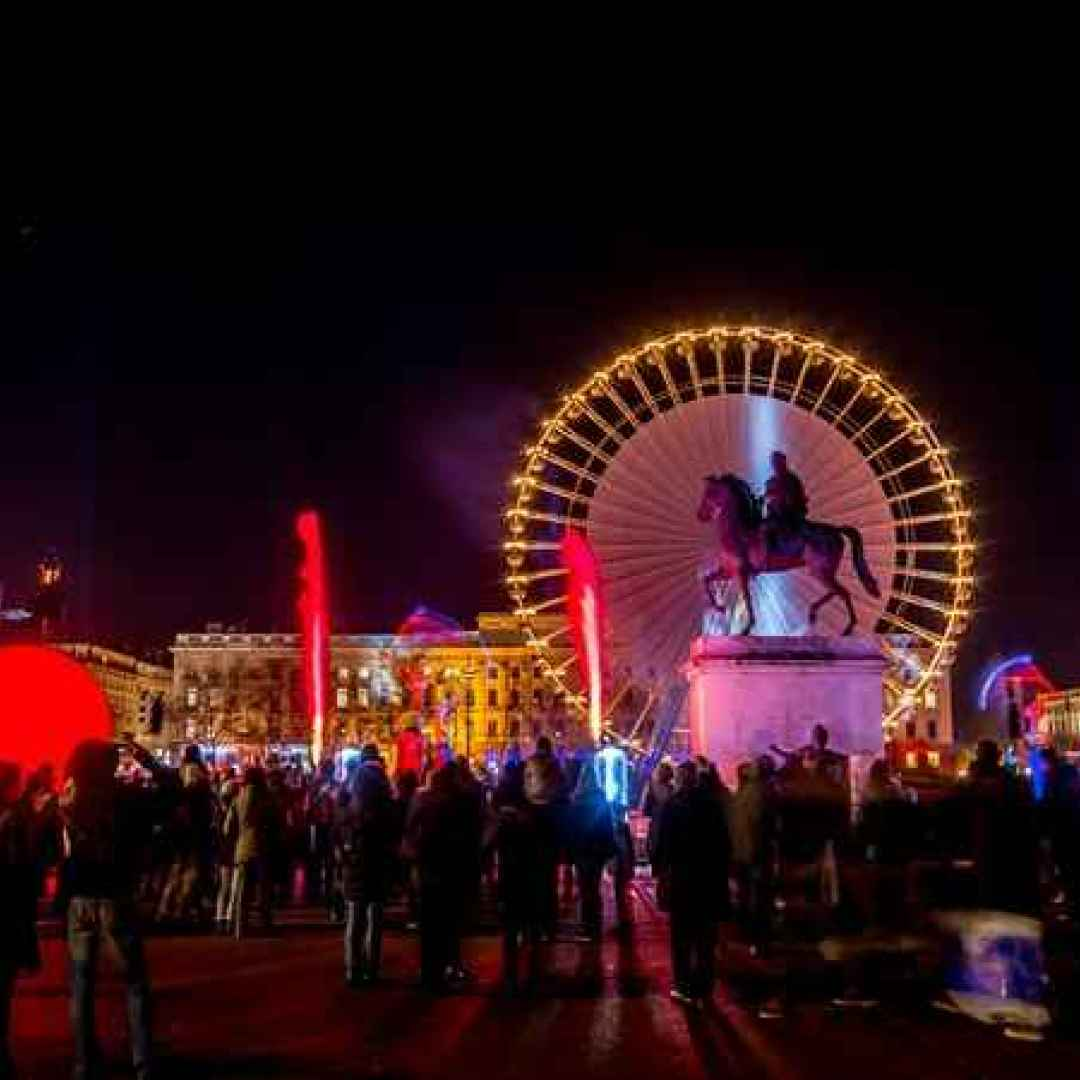 lione  festival  luci  francia  viaggi