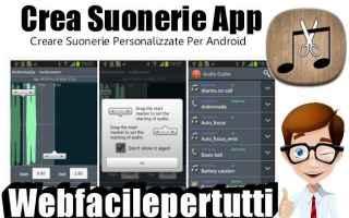 App: crea suonerie suonerie app
