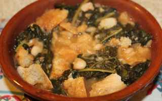 Alimentazione: cavolo nero  fagioli  zuppa di stagione