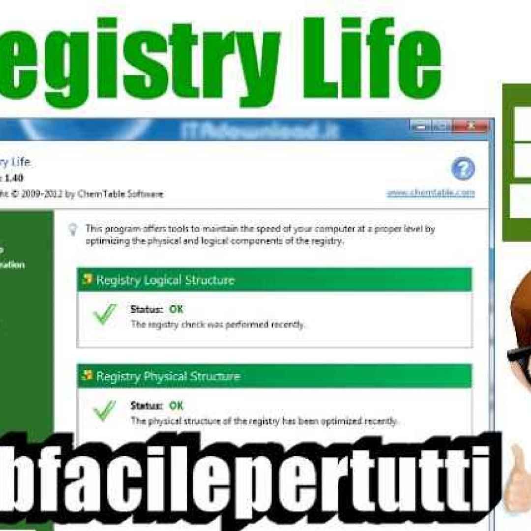 registry life  analizzare  windows  file di registro