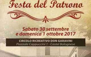 Bologna: castel bolognese  festa  patrono