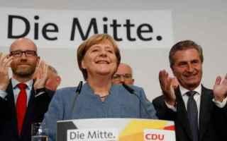 dal Mondo: germania  elezioni