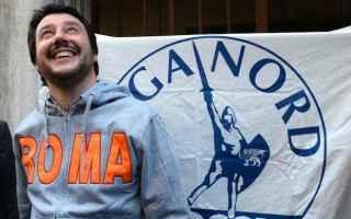 Roma: lega  roma  salvini