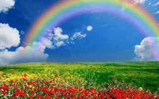 Cultura: rifrazione  arcobaleno  cielo