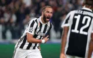 Champions League: higuain juventus calcio news