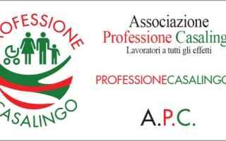Lavoro: associazione professione casalingo uomin