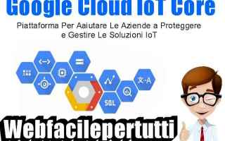 google cloud iot core google