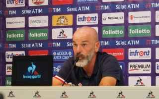 Serie A: calcio  fiorentina  pioli