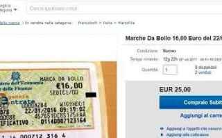Fisco e Tasse: ebay marca da bollo