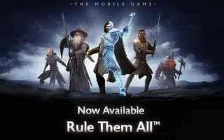 Mobile games: il signore degli anelli  mobile  gratis