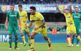 Serie A: chievo  fiorentina  sconfitta