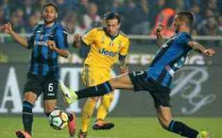 Serie A: calcio  atalanta  juve  gomez  higuain