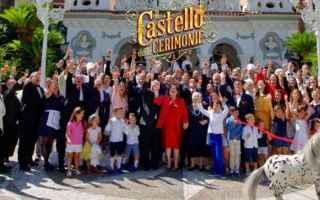 Televisione: il castello delle cerimonie