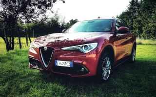 Automobili: alfa stelvio  recensione  alfa romeo