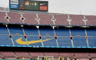 Calcio Estero: barcellona  liga  las palmas  camp nou