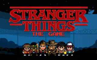 Mobile games: stranger things android iphone giochi