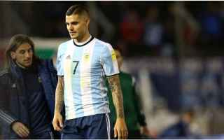 Calcio: inter  icardi  infortunio