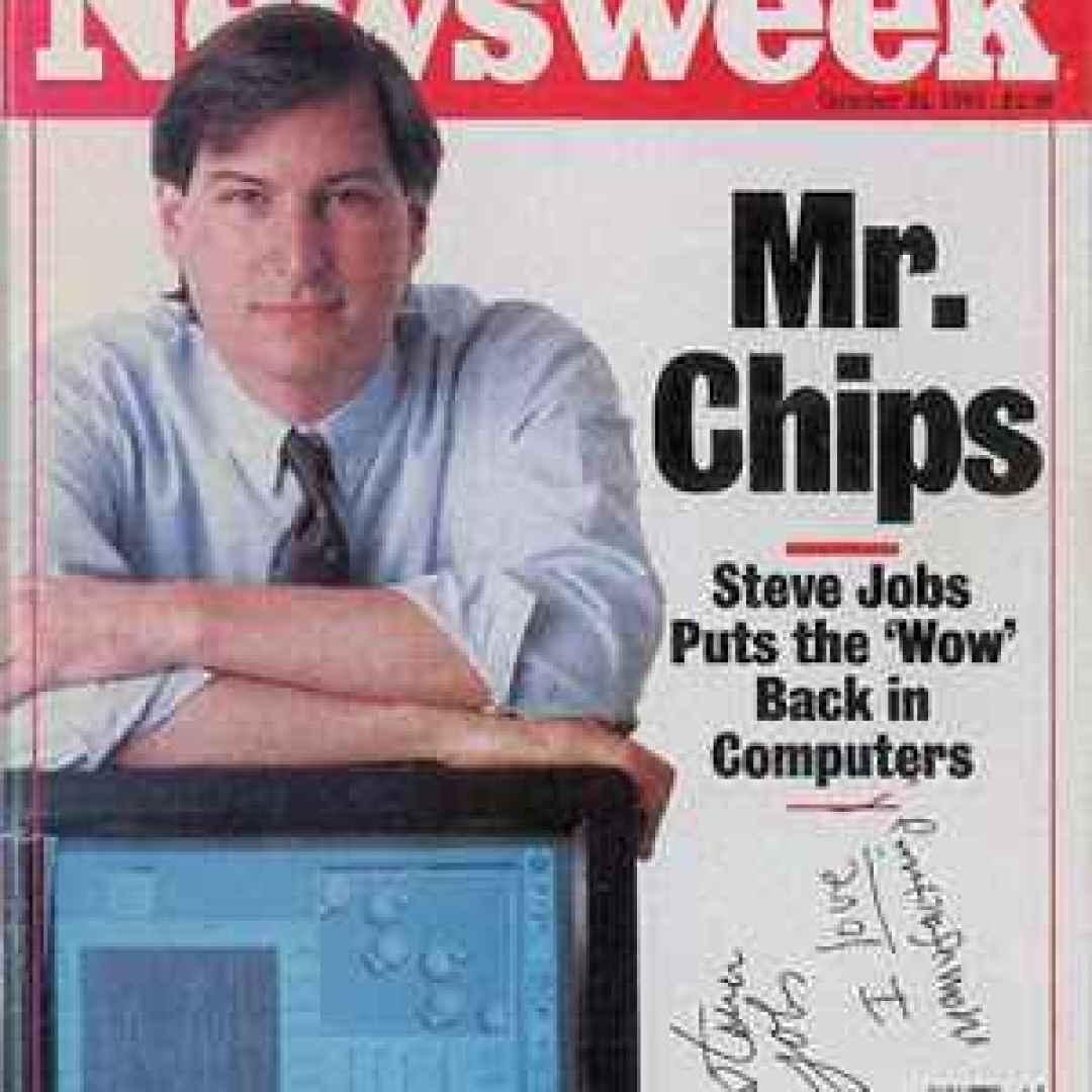 steve jobs  newsweek