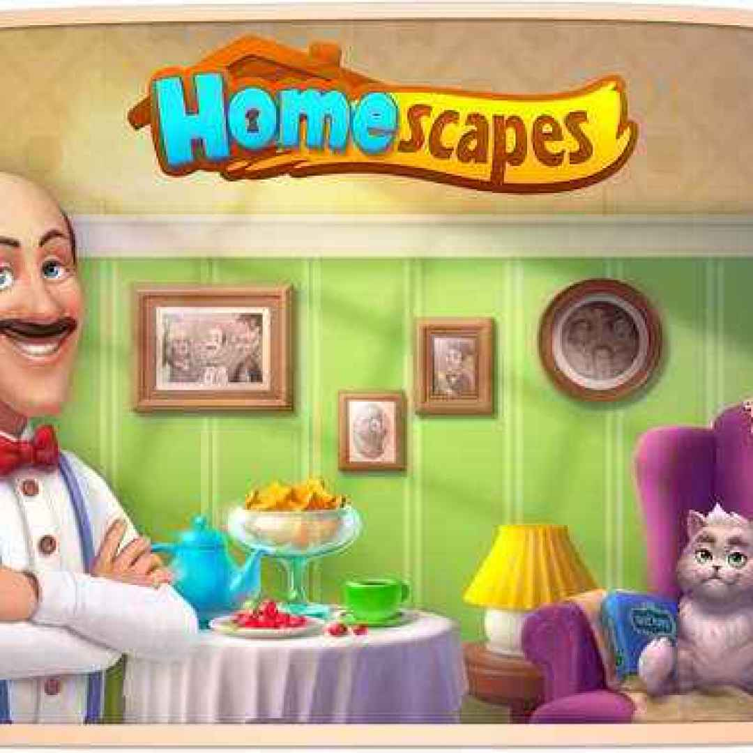 homescapes trucchi